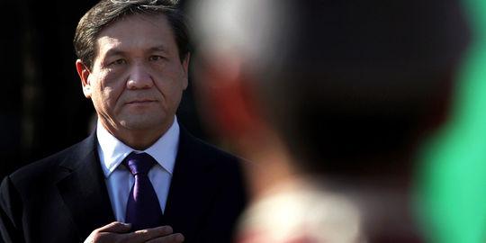La chute de l'ancien president de Mongolie pour corruption