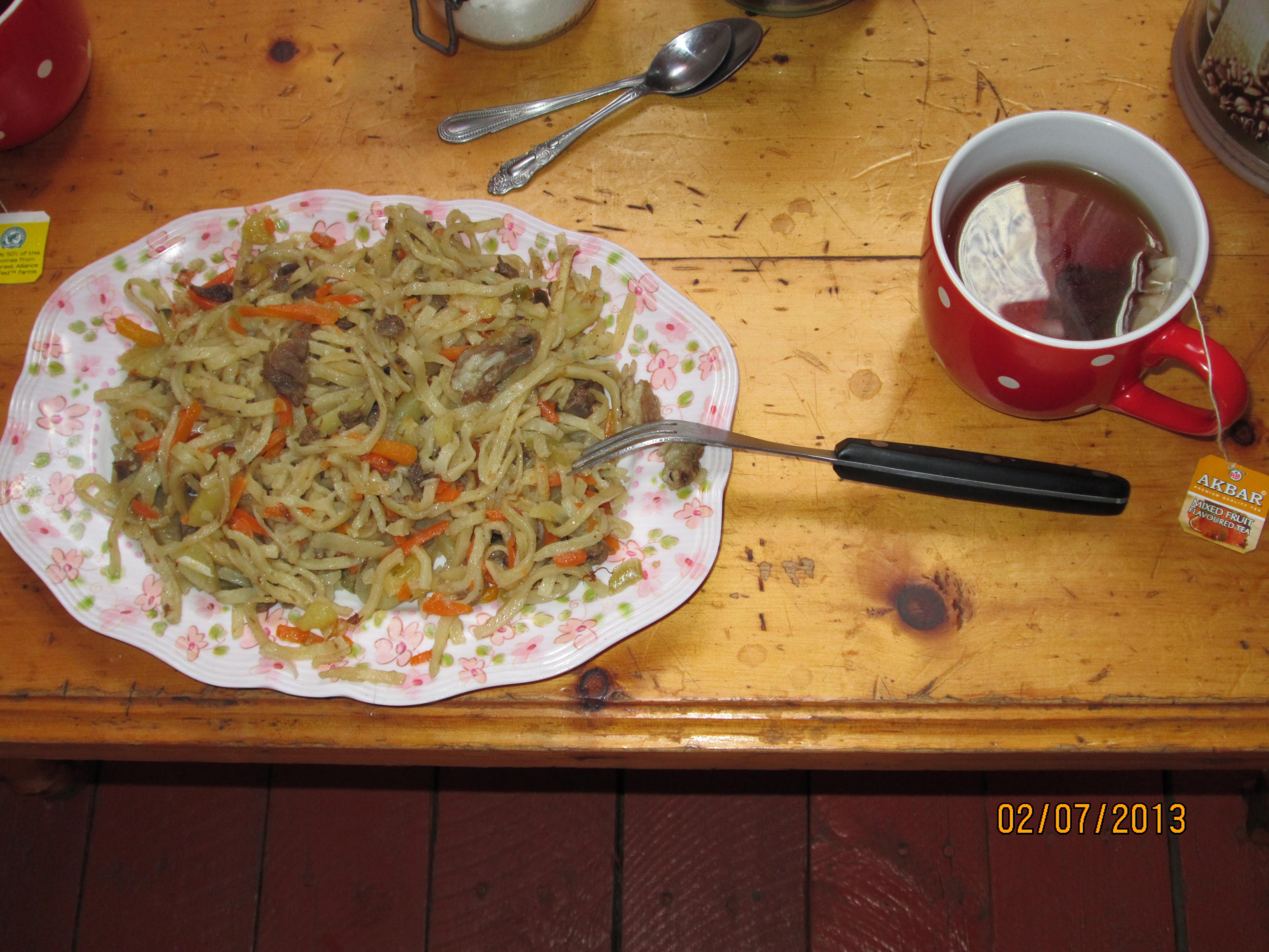 La cuisine mongole