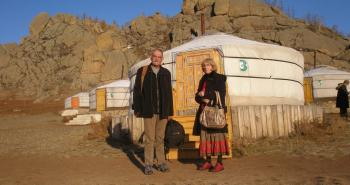 La commune d'Auzas débute une jumelage avec Bulgan un village de Mongolie