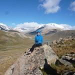 Trek dans les montagnes de Altai