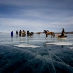 Festival de glace et visite chez les Tsaatans