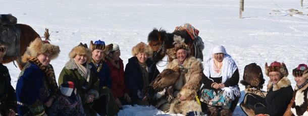 Le festival des aigles à Oulan-Bator