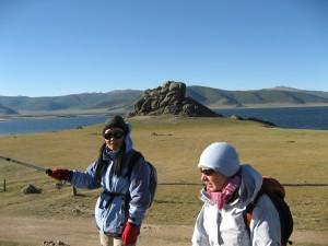 Mongolie voyage Lac Blanc