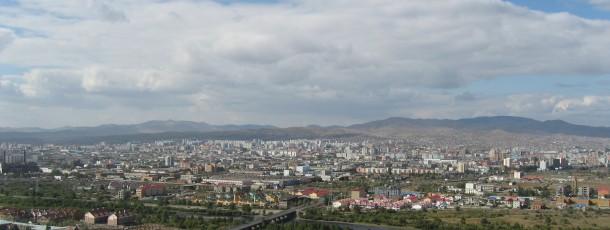 La capitale de Mongolie, Oulan-Bator