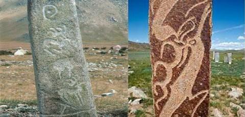 Les stèles à cervidés