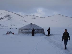 un voyage hiver en Mongolie