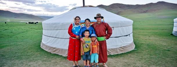 Un trek en Mongolie