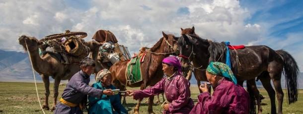 La coutume traditionnelle de nomadiser
