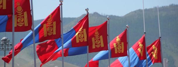 Le drapeau mongol
